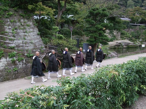Priests at Engaku-ji Temple