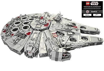 Lego: Halcón Milenario de Star Wars