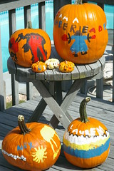 Flickr.com - Painted Pumpkins
