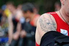 Triathlon de Toulon 2010 (27) (akunamatata) Tags: sport tattoo provence triathlon var preparation 2010 tatouage toulon parcavelos