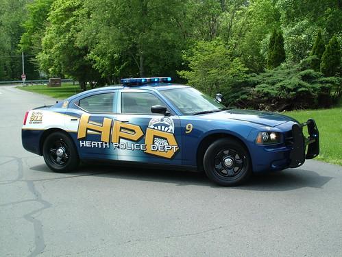 Heath Ohio Police Car