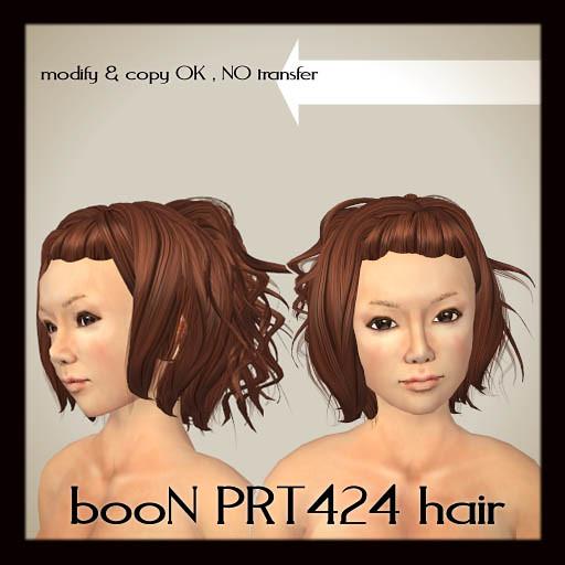 booN PRT424hair