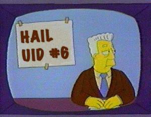 All Hail UID 6