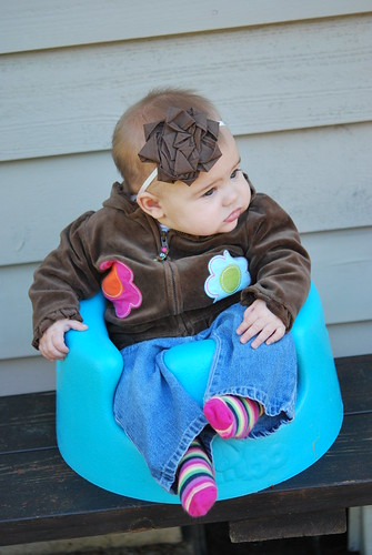 Chillin' in the bumbo