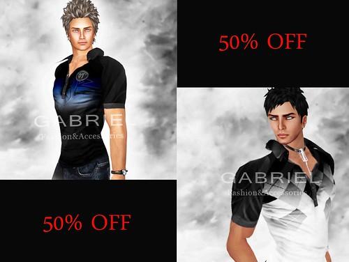 Gabriel- 50% off 1