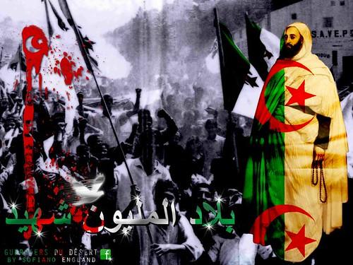 La Révolution Algérienne, 1832 - 1962. Le pays des martyrs. l'Emir Abd el-Kader, الامير عبد القادر