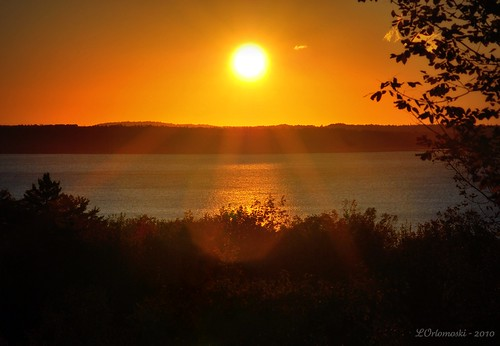 Sunrise Over Penobscot Bay