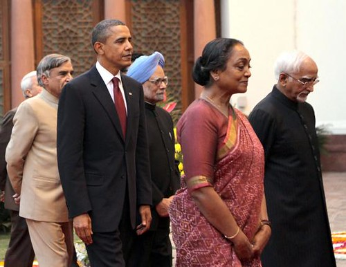Hamid Ansari with Obama2