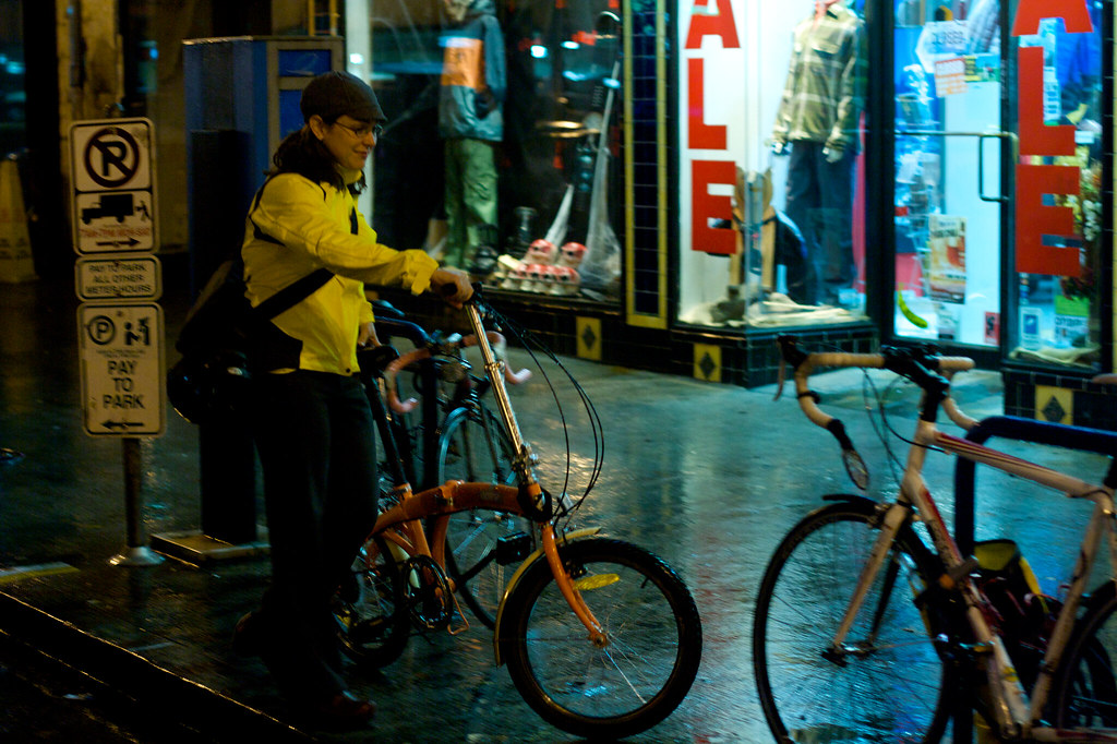 Deparking the Bike