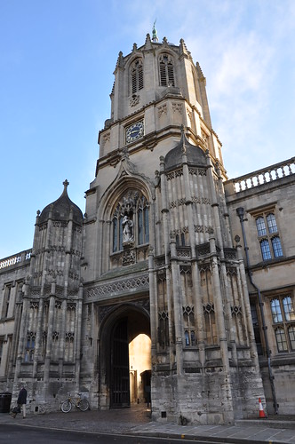 Christ Church College Entry