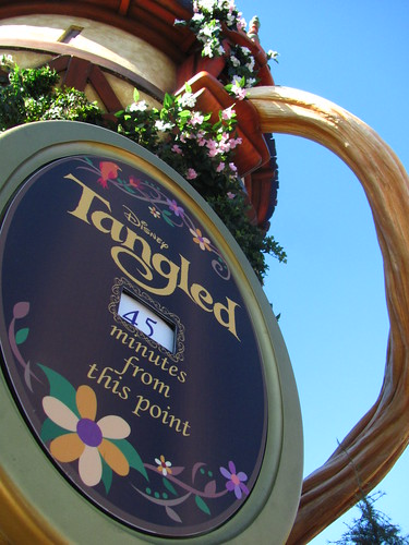 Tangled Meet-And-Greet Area