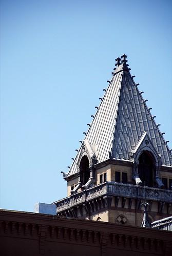 Tower of Syracuse Savings Bank Building