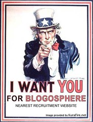 i want you for blogging
