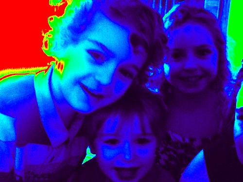 Nephews and Niece - Photobooth Fun