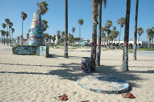 Graffiti Wall, Venice Beach
