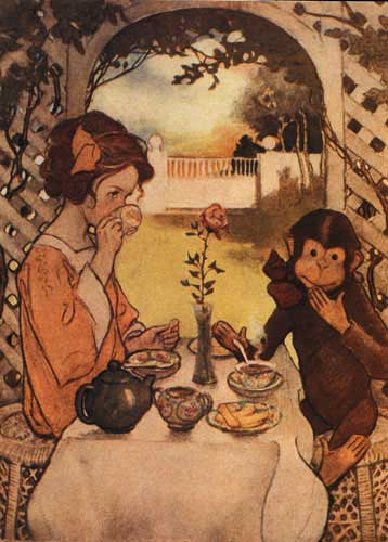 Jessie Willcox Smith, Beauty and the Beast, 1914