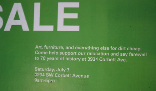 Sale at Contemporary Crafts Museum