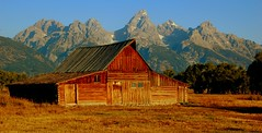 Back to the Barn (Jeff Clow) Tags: bravo explore grandtetonnationalpark blueribbonwinner magicdonkey outstandingshots speclandscape jacksonholewyoming moultonbarn mywinners
