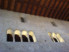 Romanesque Windows above the Old Royal Palace