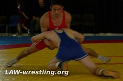 Sprawling to counter a takedown