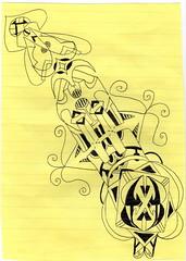 doodle made on LSD  in jail (jdyf333) Tags: trip art visions outsiderart arte outsider acid alien jazz lsd doodle tripper jail dreams doodles trippy psychedelic lightshow trance tripping hallucinations lysergic artcafe lysergicaciddiethylamide psychedelicart acrosstheuniverse tripart berkeleycalifornia sacredsacrament alientechnology lightshows bluesunshine orangesunshine stonerart psychedelicmusic lsdart jdyf333 psychedelicyberepidemic sanfranciscopsychedelic purplebarrel psychedelicillustration xmassunshine entheogasm lsddoodle hallucinographic hallucinographicdesign hypnodelic clearlightlsd purplemicrodots