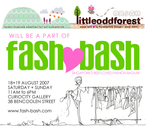 littleoddforest will be @ fashbash
