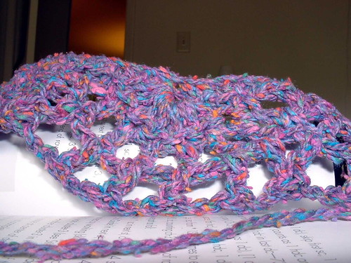 Chanson En Crochet in progress