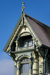 Carson Mansion detail