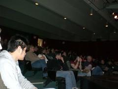 February 28th, 2007 - Dinesh D'Souza - Bowdoin College - Pic 2 (The Maine College Republicans) Tags: bowdoin 2007 dineshdsouza mainecollegerepublicans