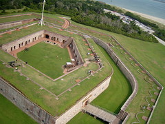 fort macon (breakall) Tags: fort northcarolina civilwar kap summervacation kiteaerialphotography sunnyday fortmacon crystalcoast