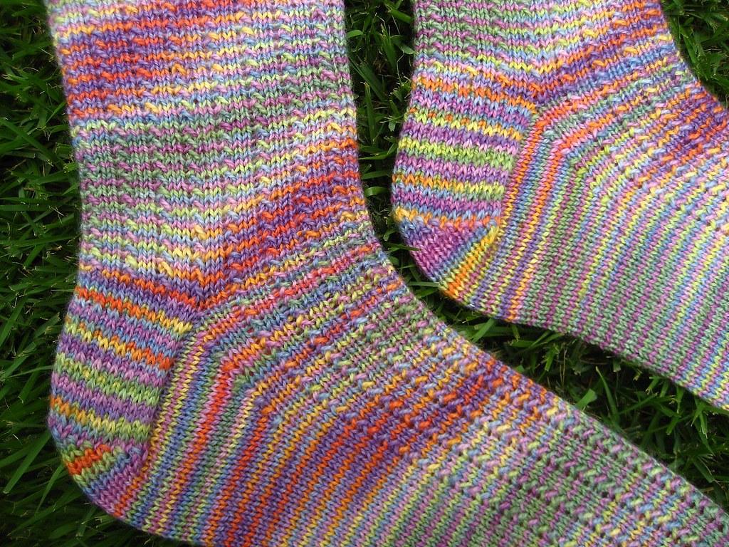 Slip Stitch Heels