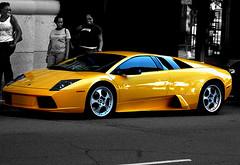Lamborghini Murcielago and people (Josh Rokman) Tags: ferrari lamborghini supercar gallardo sportscar murcielago lamborghinidiablo lambo exoticcar lamborghinimurcielago lambogallardo colorphotoaward lambomurcielago