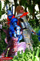 Soul Calibur II & III : Nightmare & Siegfried cosplay - Anime Expo 2006 (orgXIIIorg) Tags: blue anime photography costume expo cosplay 2006 armor edge soul sword nightmare animeexpo siegfried soulcalibur calibur yui soulcalibur2 soulcalibur3 souledge