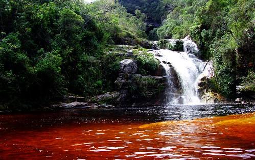cachoeira dos macacos - ibitipoca MG minas gerais mg ibitipoca cachoeiras  viajando sem frescura turismo  parque