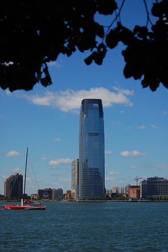 Goldman Sachs tower in New York City