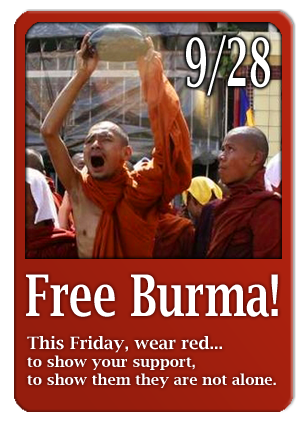 Click here to support the movement in Burma