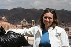 Jeanne in Cusco