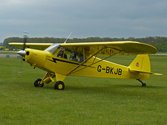 G-BKJB (QSY on-route) Tags: kemble gbkjb egbp gvfwe greatvintageflyingweekend 09052010