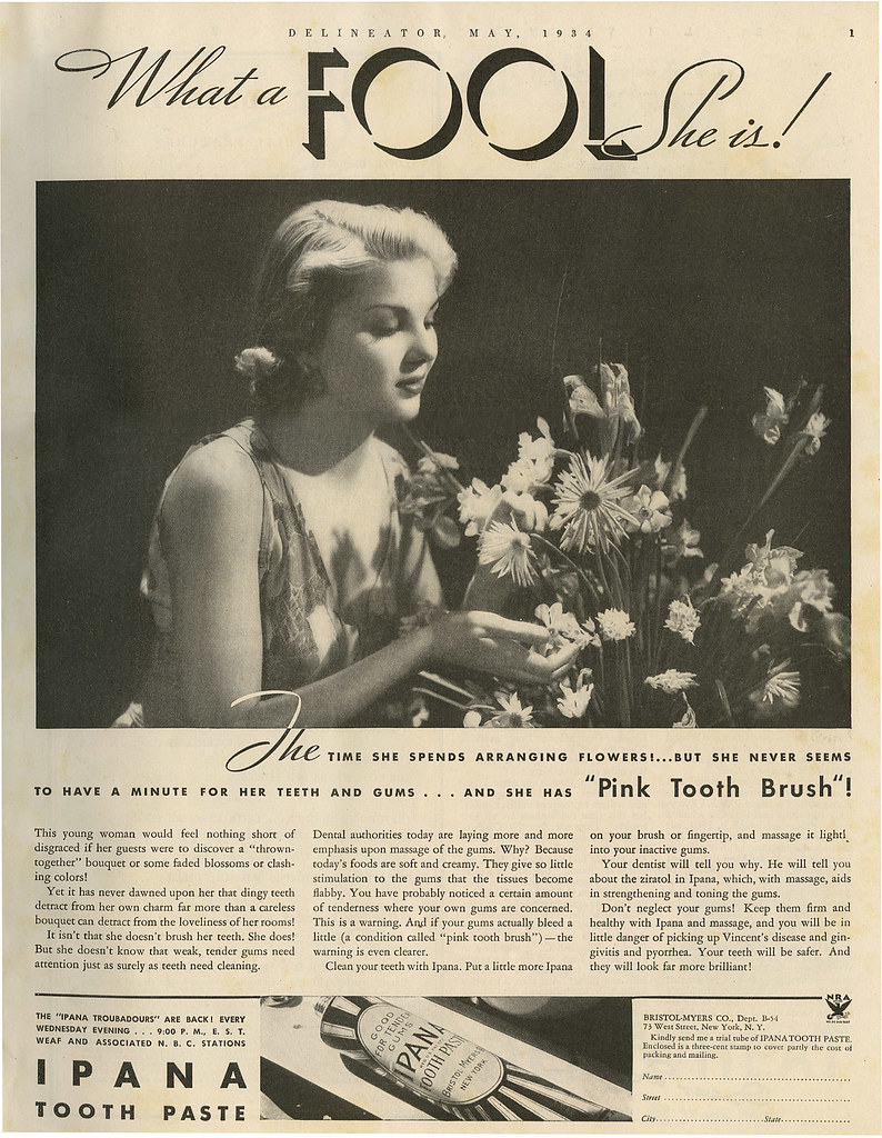 Ipana ad_May 1934_tatteredandlost