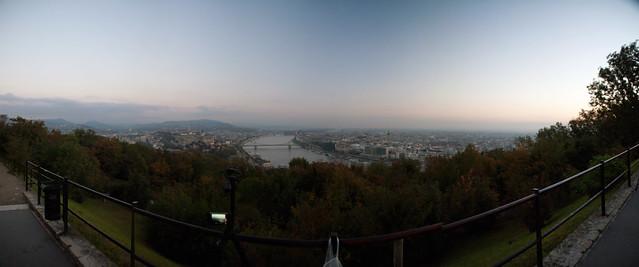 Budapest panorama from Citadella