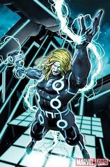 101022(3) - 《創:光速戰記》和《驚奇漫畫》的完美融合!蜘蛛人、金鋼狼等10位英雄披上「光速戰服」亮相!01 雷神索爾(Thor)