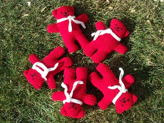 Ravelry: Teddies pattern by Teddies for Tragedies