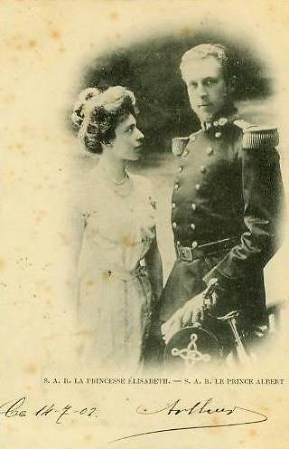 King Albert I (1875-1934) and Queen Elisabeth (1876-1965) 5110663214_4c1746976e