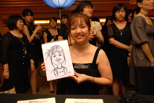 Caricature live sketching for Great Eastern D&D - 8