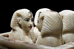 Vasos Canopos. Canopic Jar. (darkside_1) Tags: madrid españa sergio spain expo ifema bydarkside darkside1 zurinaga egiptoegypttutankhamonfaraón tutankhamonstreasure
