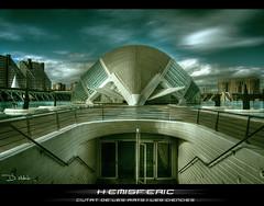 hemisferic (Sckroll) Tags: valencia nikon cac hdr planetario ciudaddelasartesylasciencias hemisferic photomatix sckroll