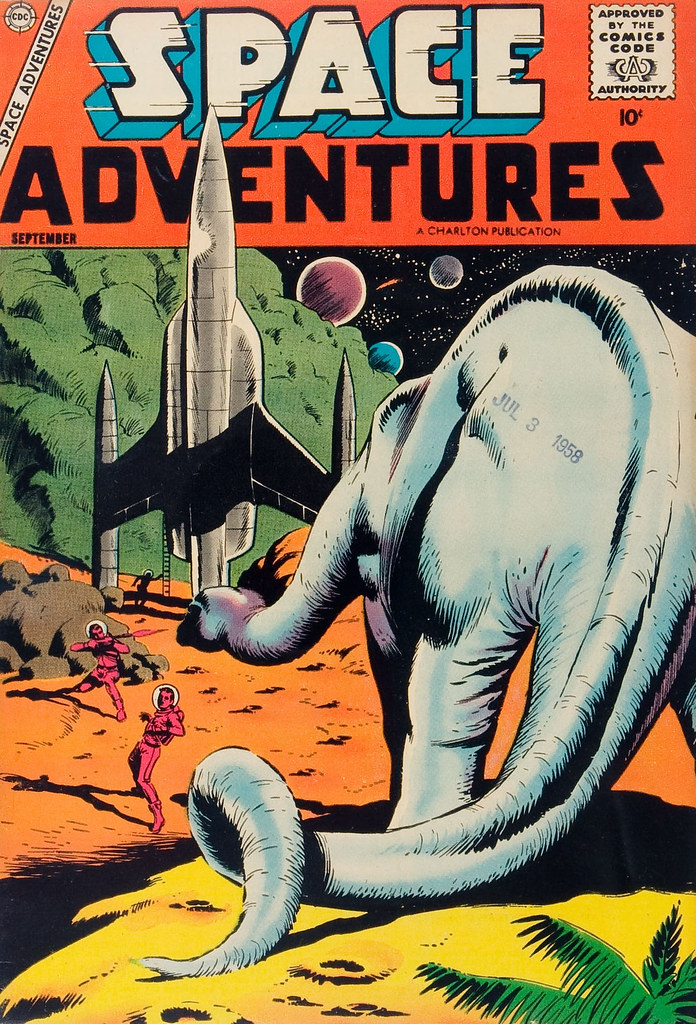 Space Adventures #25 (Steve Ditko Art) Charlton, 1958