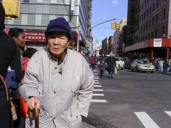 CrossWalk (Street Witness) Tags: street nyc chinatown samsung pedestrian crosswalk passerby nv7