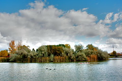 La Laguna (druida601) Tags: canon agua otoo laguna druida mywinners