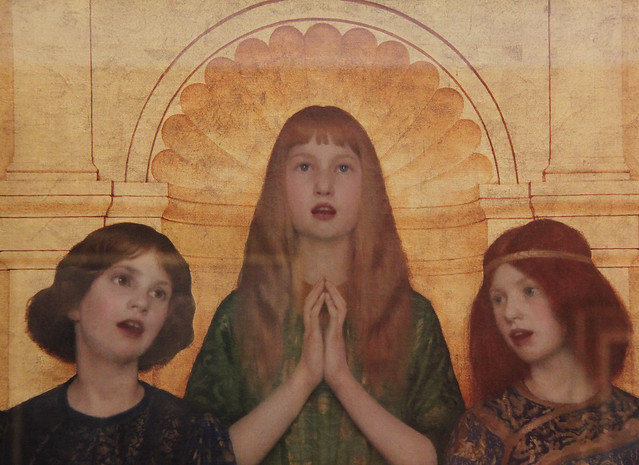 Part of Alleluia, by Thomas Cooper Gotch, 1896